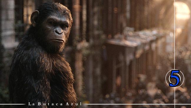 El amanecer del planeta de los simios 1