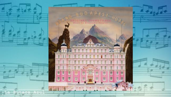 El gran hotel Budapest (Alexandre Desplat)