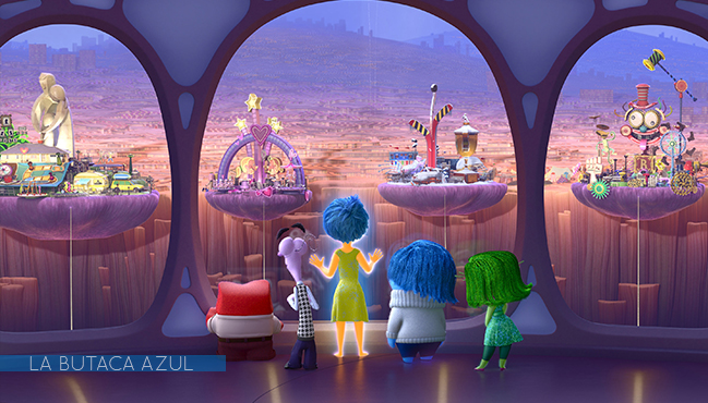 Del revés (Inside Out) (Pete Docter, Ronaldo Del Carmen, 2015)