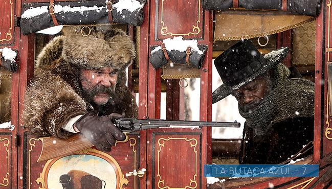 Los odiosos ocho (Quentin Tarantino, 2015)